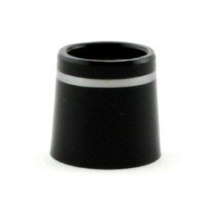 1/2 Inch Iron Black/Silver Ferrules Doz.