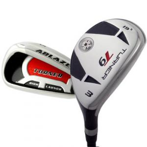 Turner Ablaze High Launch Hybrid Iron Golf Clubs