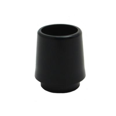 1/2 Inch Iron Collard Ferrules Doz. (All Black)