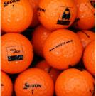 Srixon AD333 Orange Duck Dynasty Logo Golf Balls - 1 Dozen - LOOSE