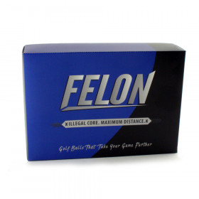 Felon Illegal Golf Balls - 1 Dozen