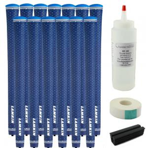 13 Lamkin UTX Solid Blue Grip Kit - Free Grip Kit