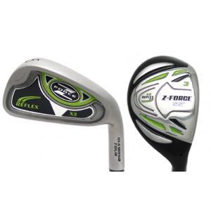 Z Force Reflex X3 Hybrid Iron Golf Clubs