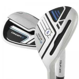 Tour Lies Concept 8 Hybrid Iron Golf Clubs