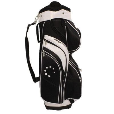 DTG Premier Cart Bag Black/White