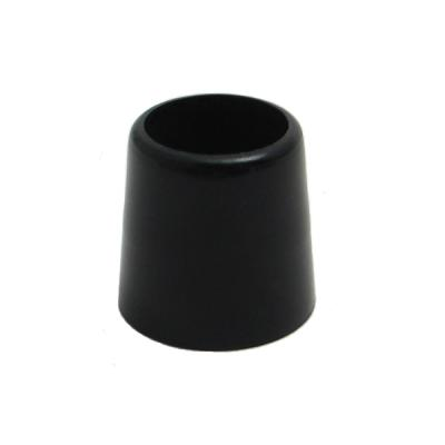 1/2 Inch Wood Ferrules Doz. (All Black)