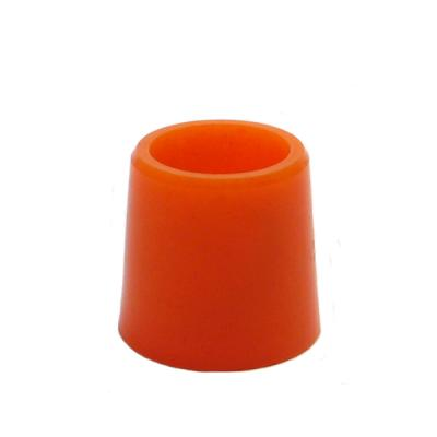 1/2 Inch Wood Ferrules Doz. Orange