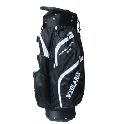 Solaris Premier 2.0 Cart Bag - Black/White