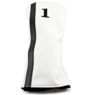 Racer Driver Headcover - White