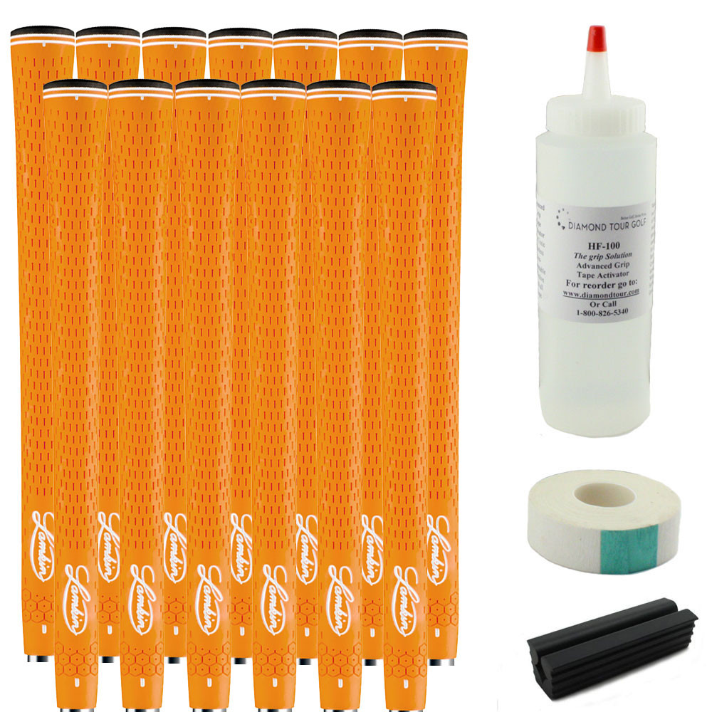 13 Lamkin i6 REL 3GEN Orange Standard - Free Grip Kit