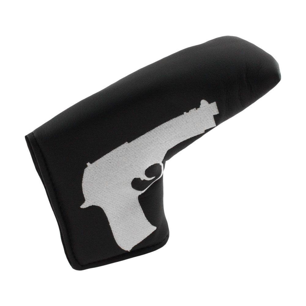 Pistol Putter Head Cover - Black