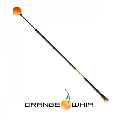 "Orange Whip Swing Trainer 44"" Golden Model"