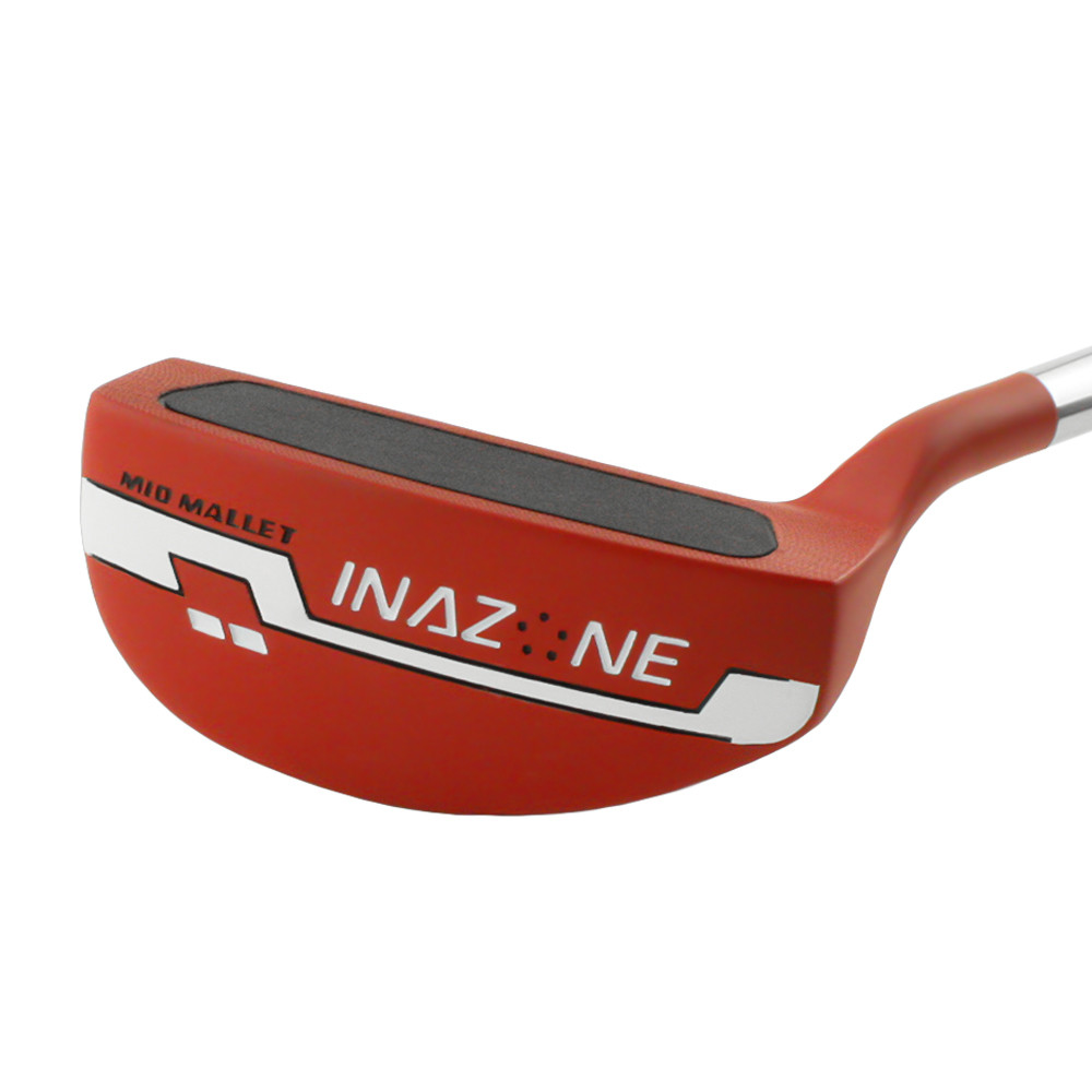 Inazone Mid Mallet Red Putter