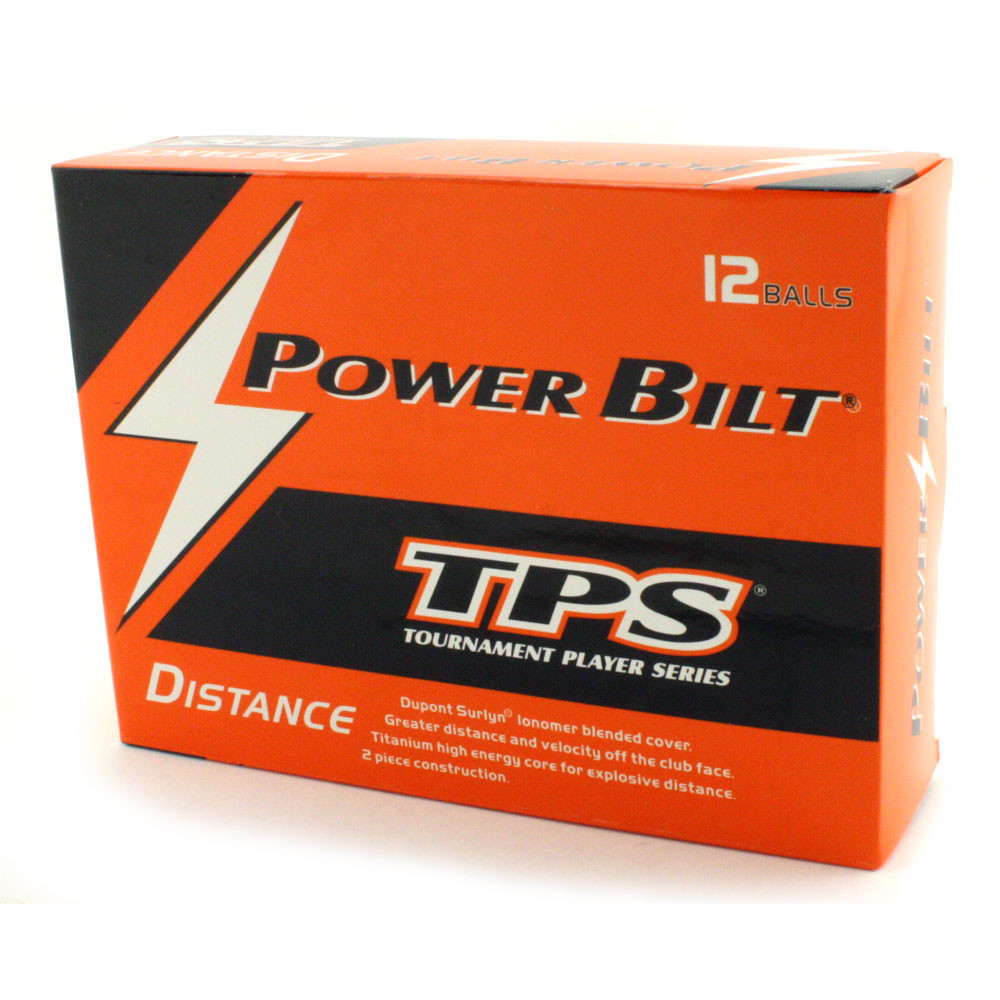 PowerBilt TPS Golf Balls -  Dozen