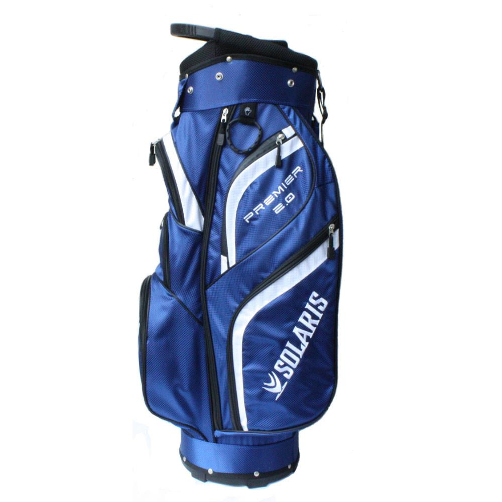 Solaris Premier 2.0 Cart Bag - Blue/White