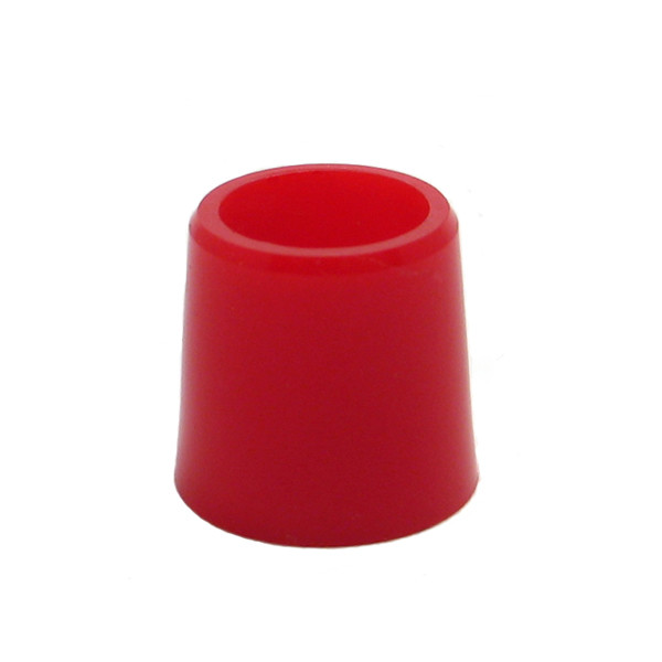 1/2 Inch Iron Ferrules Doz. Red