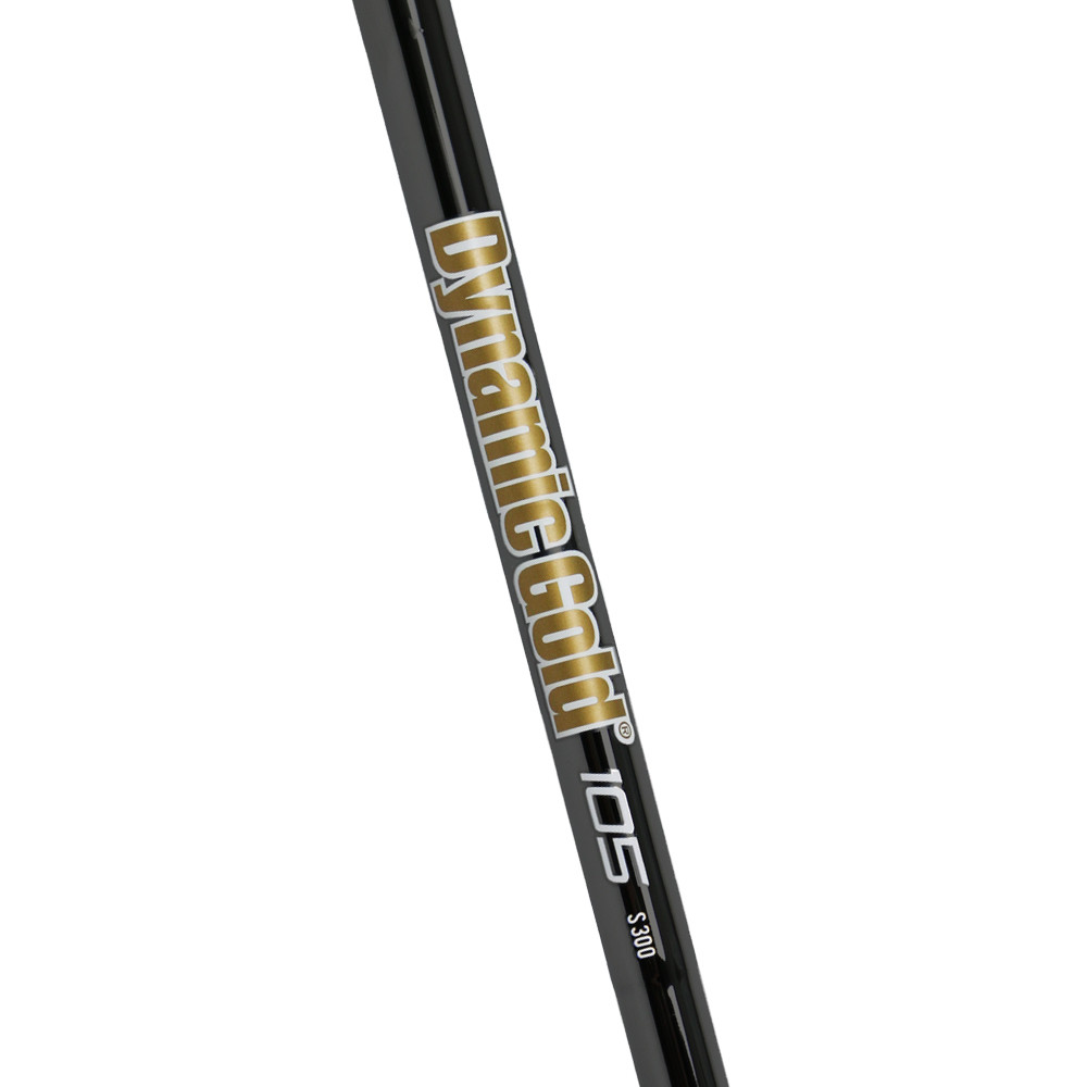True Temper Dynamic Gold 105 Onyx Taper Tip Iron Shafts