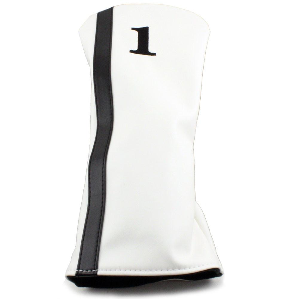Racer Driver Headcover - White