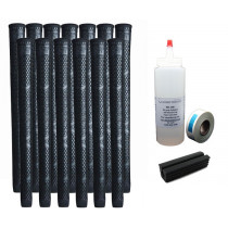 13 Winn Lite Medium Firm V17 Black Standard - Free Grip Kit