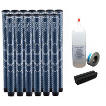 13 Winn Dri-Tac WinnDry Navy Oversize - Free Grip Kit