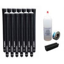 13 Lamkin REL Ace 3GEN Black Standard - Free Grip Kit