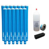 13 Lamkin REL Ace 3GEN Neon Blue Standard - Free Grip Kit
