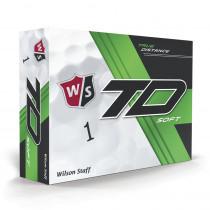 Wilson Staff True Distance Golf Balls - Soft White - 1 Dozen